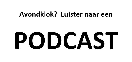 Luister eens naar een PodCast op eenzame uren